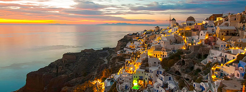 Santorini Private sunset tour