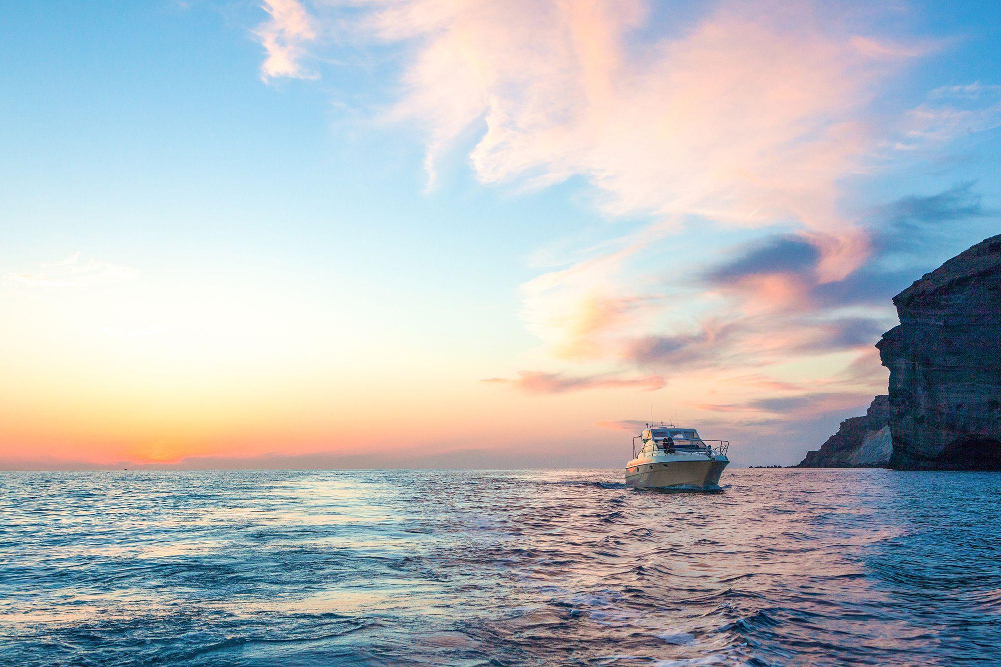 santorini tours cruises pelagos boat